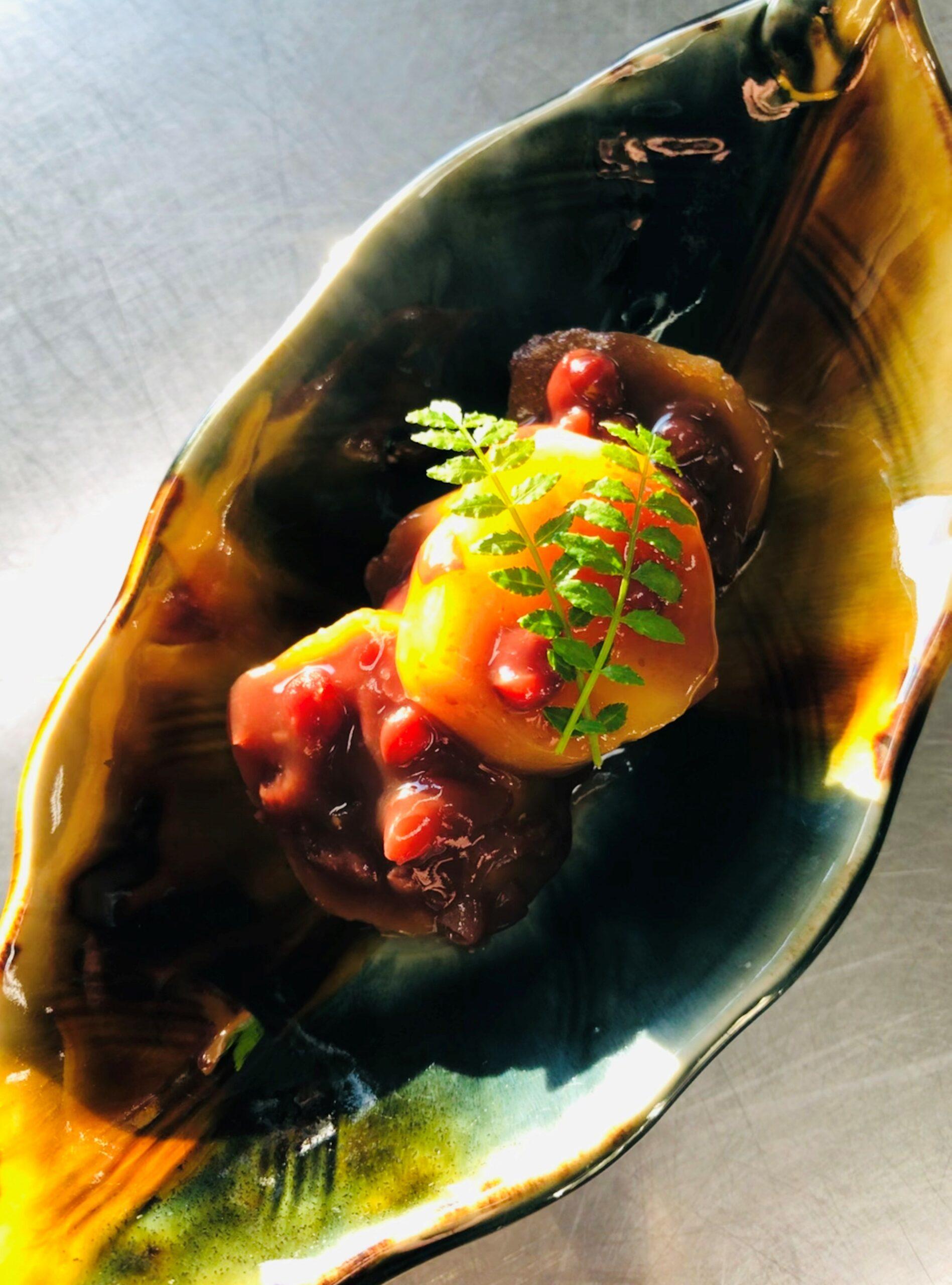 あずきとさつま芋の煮物|イメージ