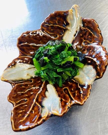 小松菜ののりあえ|イメージ