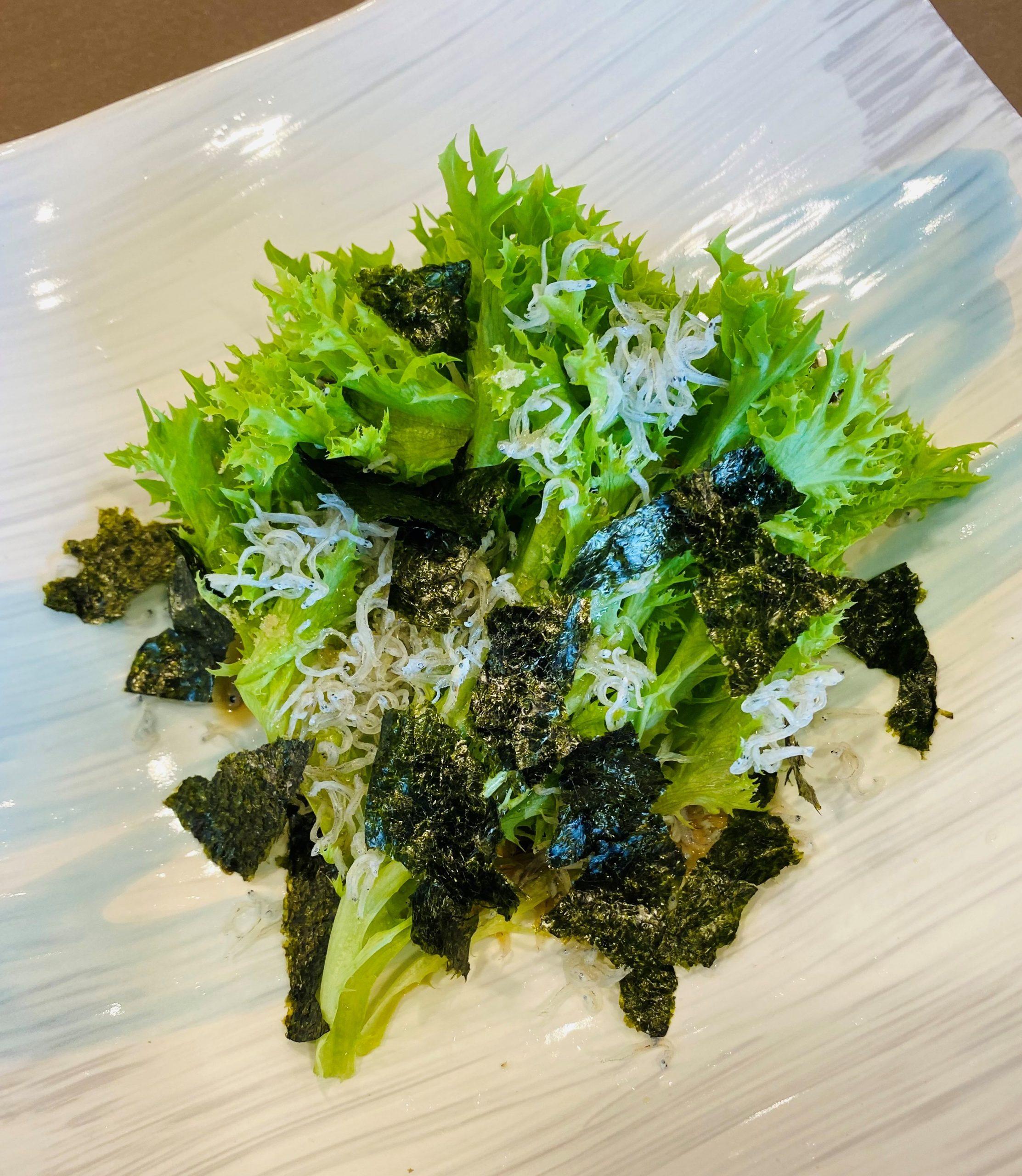 水菜とのりのじゃこサラダ|イメージ